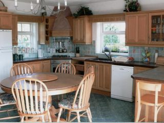 County Mayo house photo - Large Kitchen with table and breakfast bar seating