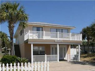 Large comfortable 5 BR, 4 BA Home with Private Pool & one house from the Beach