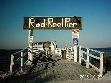 Take in the world renowned Rod & Reel Pier on the north end of the Island