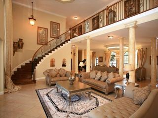 Formosa Gardens villa photo - Sweeping Main Staircase - Second staircase for games area
