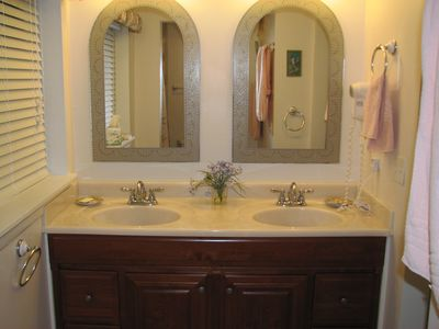 Sea Pines villa rental - Master Bathroom