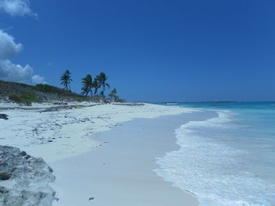 The beach is great for walks, searching for shells and snorkeling...