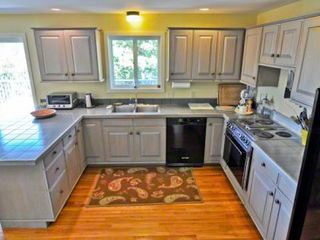 Chilmark house photo - Large Kitchen Is Well-Equipped For Vacation Cooking & Entertaining