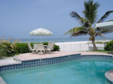 Redington Shores house rental - The backyard view of The Gulf