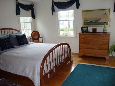 Chatham house rental - Queen Size Bedroom with Queen Bed
