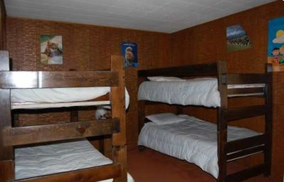 two bunk sets - sleeps 4 people