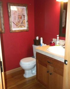 Powder Room off Great Room