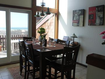 Monterey house rental - whitewater1-dining with panoramic ocean view