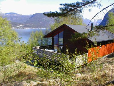 image for Holiday house with 10 PS motor boat ca. 100 m to Hardangerfjord