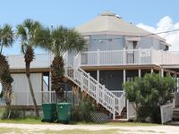 Evening Star B - 2 Bed/ 1 Bath Gulf Front Townhome in St. Joe Beach