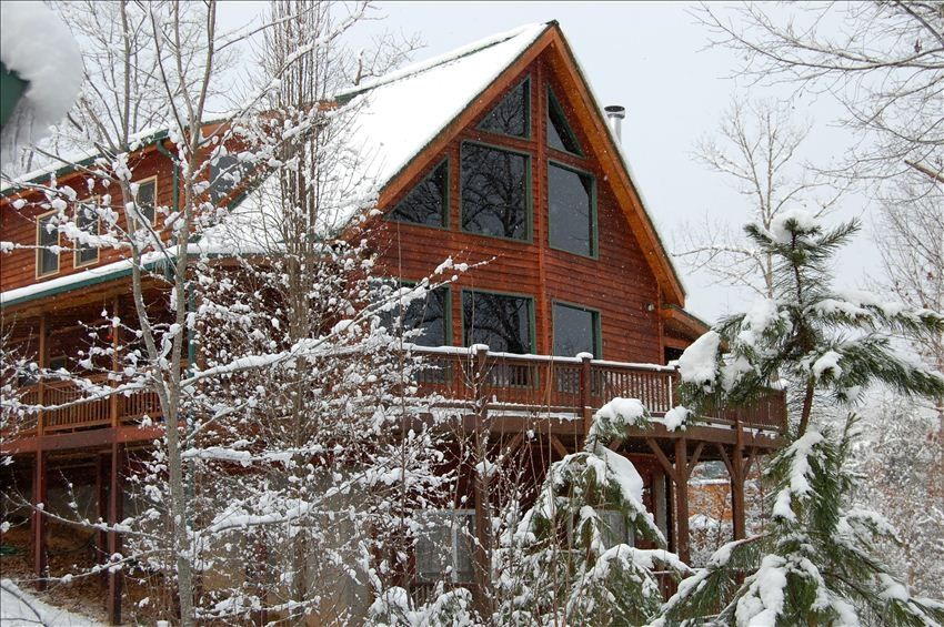 Beautiful Rocky Mountain Style Lodge Cabin Vrbo