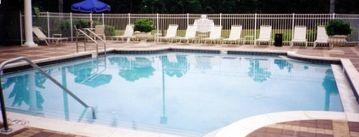 Community Pool with Tiki Bar, clubhouse, gym, sauna, t.v. room, free cyberspace
