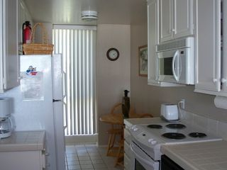 Oceanside condo photo - Fully stocked kitchen with an ocean view too.