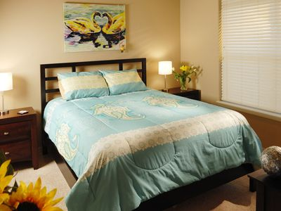 Branson condo rental - Amazingly soft high thread count linens.