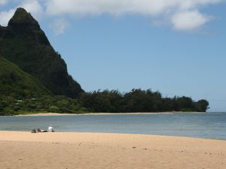Princeville condo photo - Tunnels Beach - great snorkeling!
