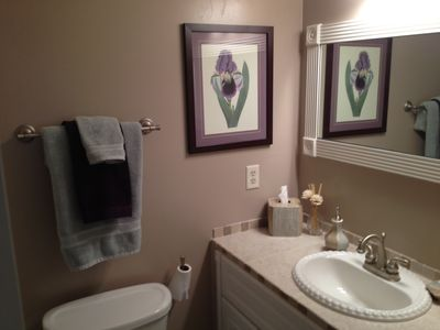 Folly Field villa rental - Master Bathroom