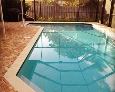 Large Solar-Heated Pool