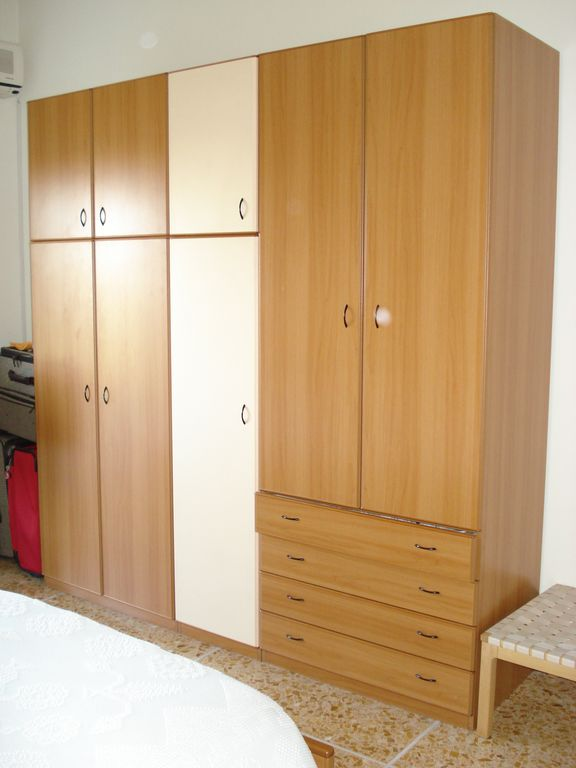 Clothes wardrobe in Bedroom