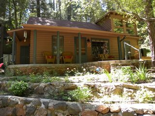 Sedona cabin photo - Street side view
