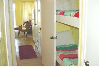 bunk beds for additional guests - Isle of Palms condo vacation rental photo