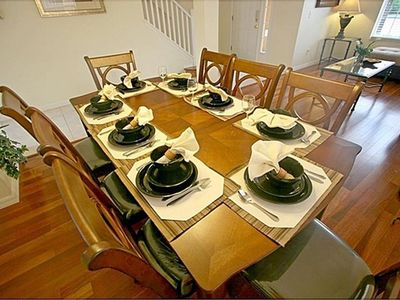 Kissimmee villa rental - Formal dining room