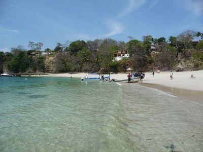 Contadora Panama - Playa Galeon with Villas in background