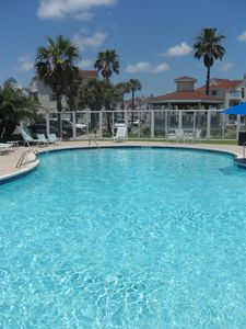 North Padre Island condo rental - Beach Club pool.