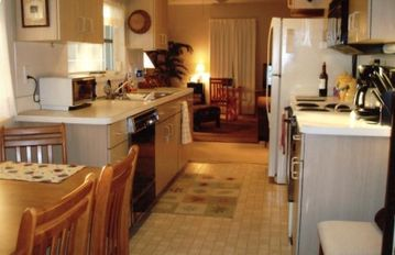 A Fully Equipped Galley Style Kitchen