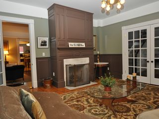Lenox house photo - Old world paneling and elegant colors create an ambience of serenity