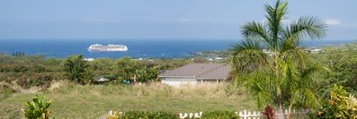 This is the view of Kailua Bay from the home