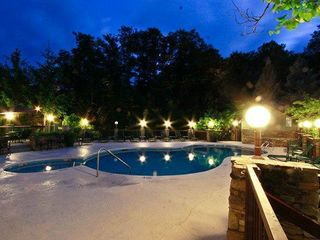 Gatlinburg condo photo - Pool at 10PM - Awesome