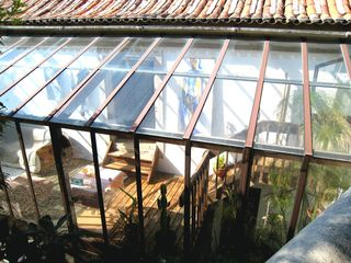Colares house photo - Conservatory from pool