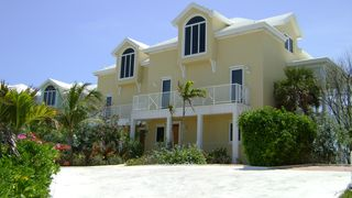 Great Exuma villa photo - Front of villa facing Elizabeth Harbor.