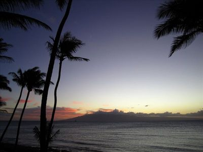 Relax and watch the sunsets from Mahana 301....it doesn't get any better!