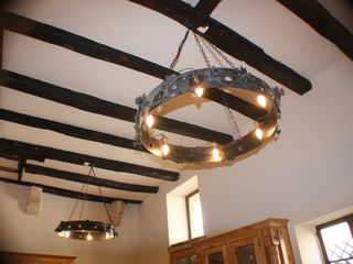 St Cyprien house photo - original oak beams throughout the 600 year old property