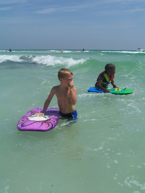 Enjoy the Emerald Coast's water