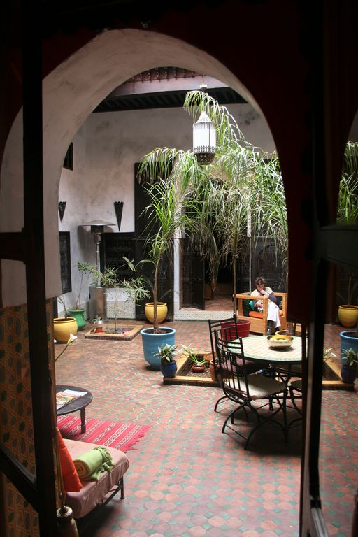 Authentic riad in the medina of Meknes
