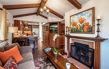 """Carmel house rental - Welcome to """"Whispering Waves""""! A Quintessential Carmel Artist's Home."""