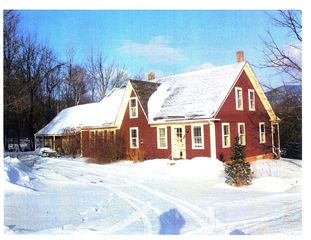 Ascutney farmhouse photo - Front of House in Winter