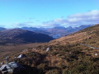 Killarney cottage photo - Half way up Torc Mountain in November. A 10 minute drive from the base of Torc.