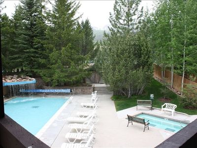 Lower Pool and Outdoor Whirlpool - Open Year Round