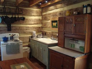 Amherst cabin photo - Kitchen