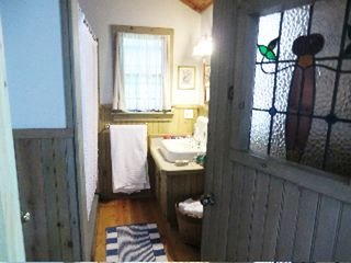 Great Barrington house photo - Main floor bath with shower