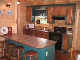 Pine Mountain cabin photo - Full Kitchen