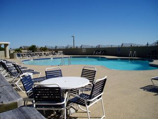 Kingston Plantation condo photo - Enjoy the beach front pool located between the North Hampton and South Hampton.
