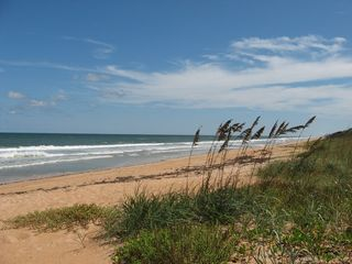 Ormond Beach condo photo - South view of the Atlantic