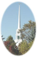 Church on Main Street - one block away. - Stowe house vacation rental photo
