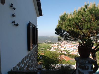 House in the hills of Sintra, high Penedo, with magnificent views