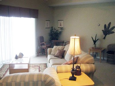 Mackinaw City condo rental - Living Room