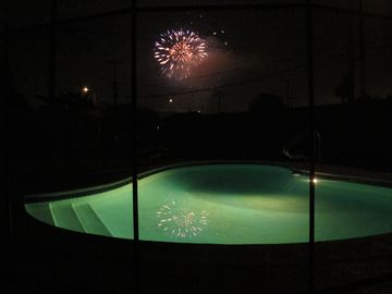 Nightly Magical Disney Fireworks from the Backyard
